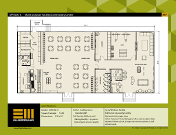 purpose of floor plan ellis modular buildings multi purpose facilities floor plans