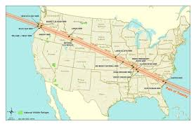 Wsu Parking Map Total Eclipse Path Crosses 19 National Wildlife Refuges The