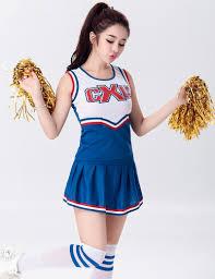 girls halloween tops costume cheerleader promotion shop for promotional costume