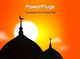 arabic powerpoint template arab hajj red powerpoint template id