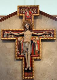 san damiano crucifix san damiano cross st michael the archangel church woodstock ga