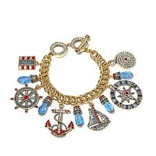 heidi daus all encompassing link nautical charm bracelet