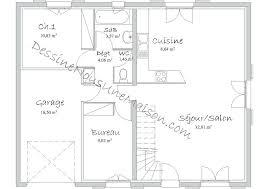 plan maison rdc 3 chambres plan de maison de plain pied avec 3 chambres sanantonio
