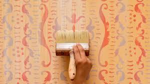 how to paint u0026 stencil diy tutorial colorful rustic italian