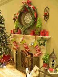 rustic christmas mantel decorations cheminee website