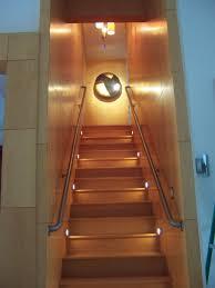 large basement stair lighting ideas basement stair lighting