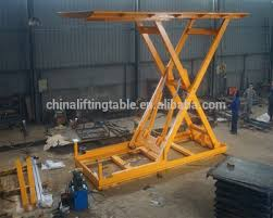 used electric lift table diesel engine electric hydraulic stationary used cars scissor lift