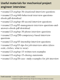 Engineering Resume Sample by Top 8 Mechanical Project Engineer Resume Samples