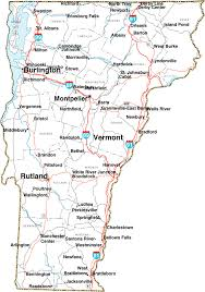 usa map vt map of vermont state map of usa