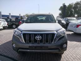 brand new toyota brand new toyota prado vx l 2017 model grey color for export only