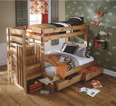 Badcock Furniture Living Room Sets Cabin Retreat Twin Full Stair Bed Badcock U0026more