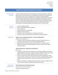 It Director Resume Samples Fair It Director Resume Templates About Creative Director Resume