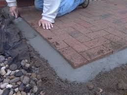 Paver Patio Edging Options 10 Tips You Should When Laying Brick Pavers Brick Pavers