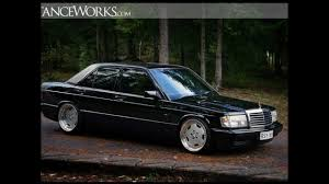 lowered mercedes 190e mercedes benz 190e fly project mandala 1080phd youtube