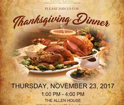 thanksgiving dinner hosted by the biddy foundation black