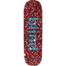 Red Blue Color Blindness Blind Skateboards Color Blind Red Blue Skateboard Deck 8 5 X