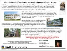 leed house plans virginia beach offers tax incentives for energy efficient homes