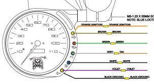 instrument light wiring questions u002705 883c joker machine speedo