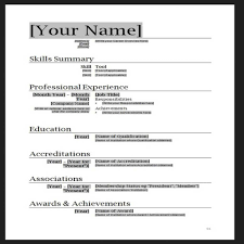 resume ms word format professional cv format doc modern resume template word info doc