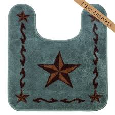 Contour Bath Rugs Star Contour Bath Rug Red Or Turquoise