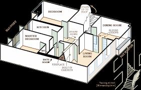 floor plan of the secret annex anne frank s amsterdam home
