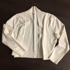 white sweater calvin klein calvin klein white sweater shawl cardigan from