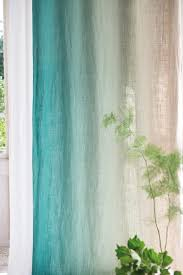 Turquoise And Curtains Another Fabulous Umbre From Designers Guild Padua This Time On A