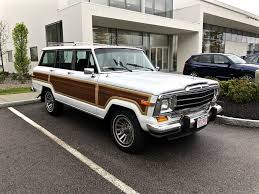 1960 jeep wagoneer curbside classic 1991 jeep grand wagoneer u2013 iconic