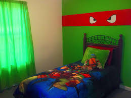 aidens new ninja turtle room came out too stinkin cute pin