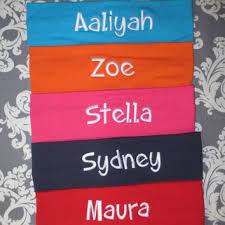 monogram headband shop name headbands on wanelo