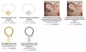 Monogramed Jewelry Sincerely Laura Monogrammed Jewelry