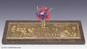bronze cemetery markers expressions in bronze companion grave markers by everlife memorials