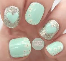 10 cute and easy nail designs ideas silver nail silver nail