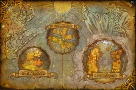 Map Of Nirn New World Map Warlords Of Draenor Cards U0026 Landscapes Pinterest