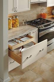kitchen cabinet interior organizers drawer base cabinet with rollout omega