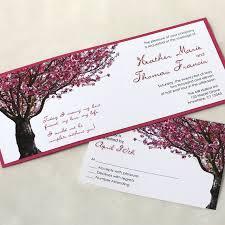 cherry blossom wedding invitations cherry blossom tree wedding invitation wedding invitation