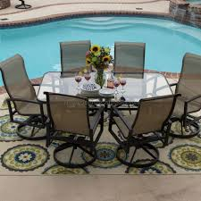 glass top patio table rim clips bar furniture glass top patio set glass top patio table rim clips