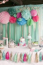 1st birthday themes for littlest mermaid 1st birthday party kara s party ideas mermaid