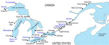 st seaway map lecture 13 for a course in canadian economic development