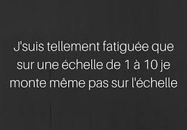 Meme Pas Fatigue - fatigue francais quote citation french image 4276405 by