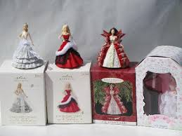 lot 1997 and 2008 hallmark ornaments wedding and ken