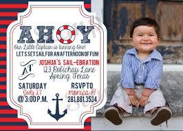 best 25 nautical birthday invitations ideas on pinterest sailor