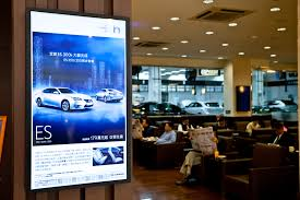 headquater toyota innovative digital signage solution enables toyota to make a