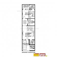 house design 15 x 60 best house plan for 16 feet 54 feet plot plot size 96 square yards