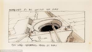 original sketches used to plan star wars scenes sell for 16 000