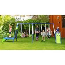 Backyard Discovery Weston Cedar Wooden Swing Set Backyard Discovery Weston Cedar Swing Set Toys Walmart And Swings