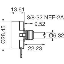 rv4naysd102a precision electronics corporation potentiometers