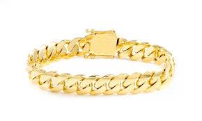 cuban bracelet images 14k miami cuban bracelet 92 56 gram 12 1mm cuban style miami jpg