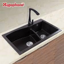 lavelli granito pietra di quarzo lavello granito sottotop lavello doppia vasca