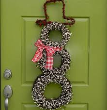 Christmas Decoration For Your Door by 50 Best Christmas Door Decorations For 2017